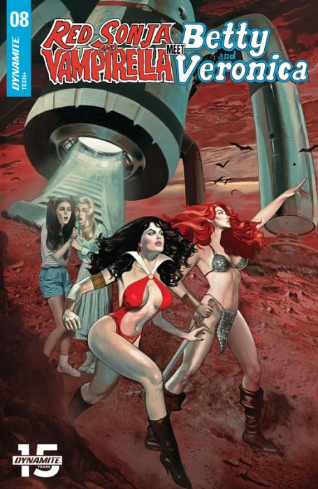 Red Sonja and Vampirella Meet Betty and Veronica #8