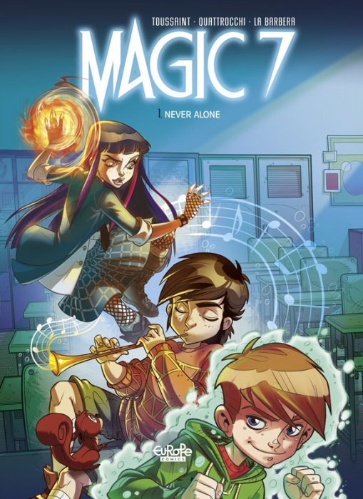 Magic 7 #1 - Never Alone