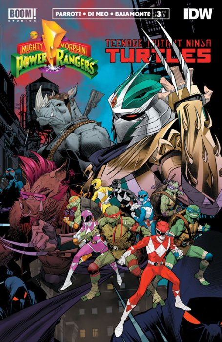 Mighty Morphin Power Rangers - Teenage Mutant Ninja Turtles #3