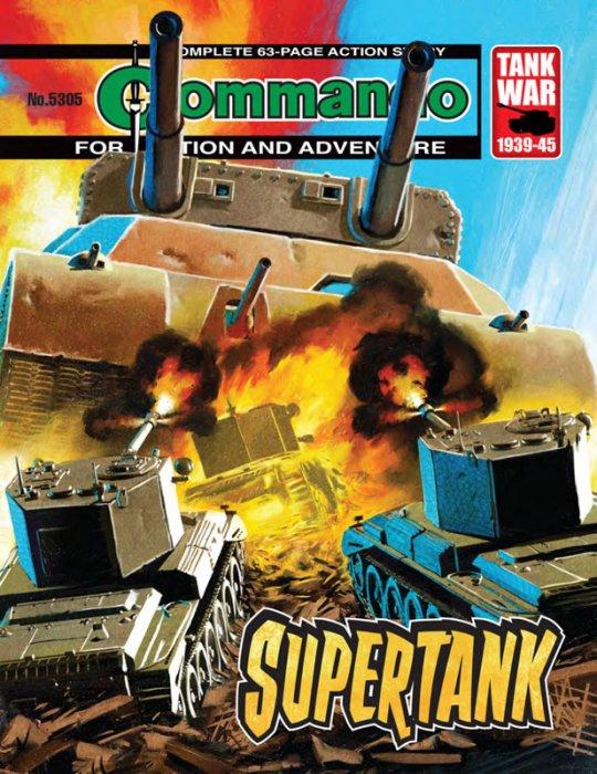 Commando #5303-5306