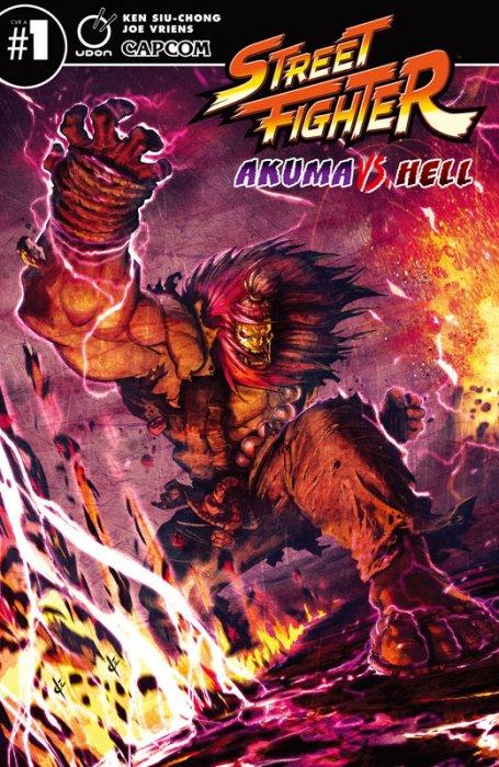Street Fighter - Akuma VS Hell #1