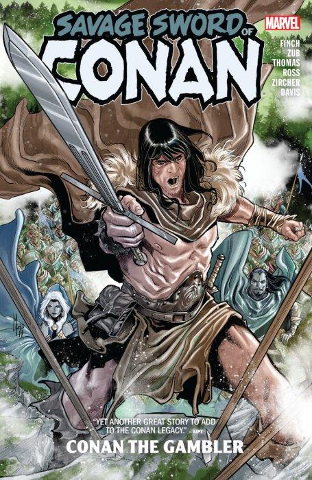 Savage Sword of Conan - Conan the Gambler #1 - TPB
