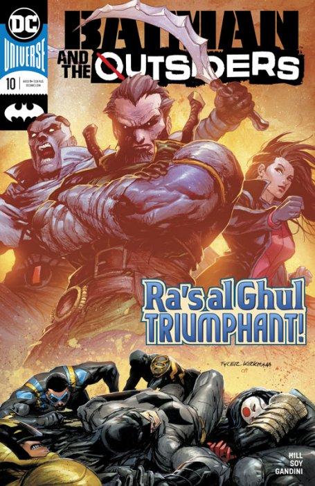 Batman & the Outsiders #10