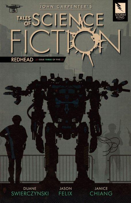 John Carpenter's Tales of Science Fiction - REDHEAD #3