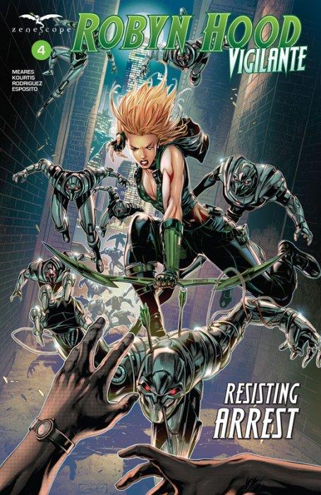 Robyn Hood - Vigilante #4