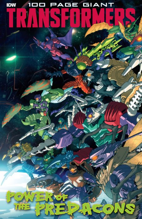 Transformers 100-Page Giant - Power of the Predacons #1