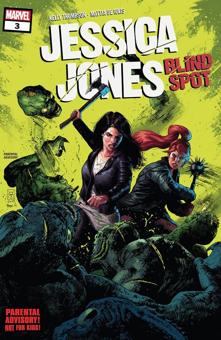 Jessica Jones - Blind Spot #3