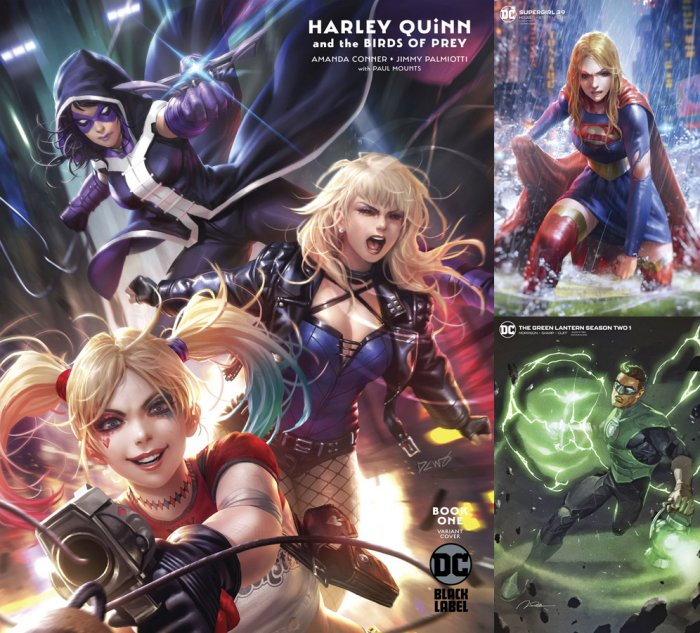 DC Variant Cover pack for 2020-02-12