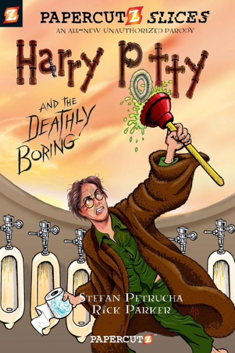 Papercutz Slices #1 - Harry Potty and the Deathly Boring