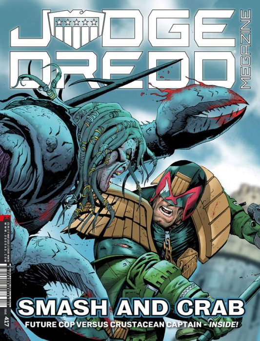 Judge Dredd The Megazine #417