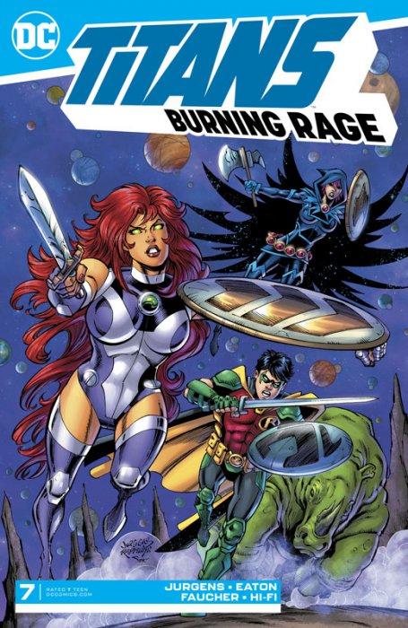 Titans - Burning Rage #7