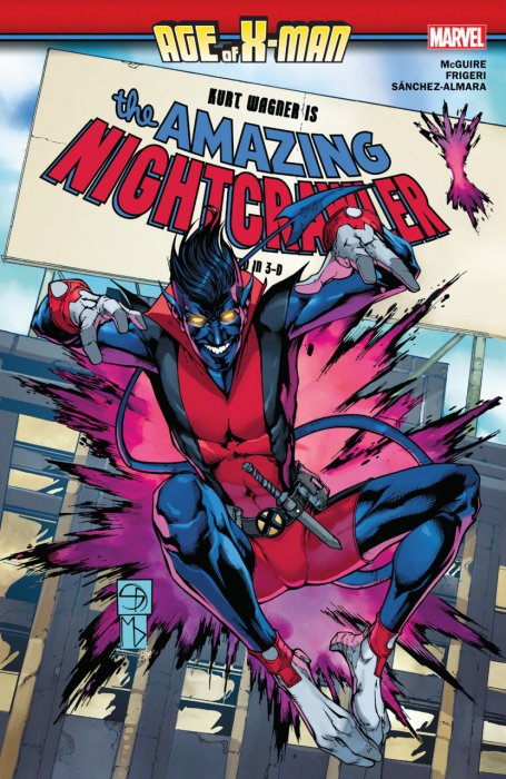 Age of X-Man - The Amazing Nightcrawler #1 - TPB