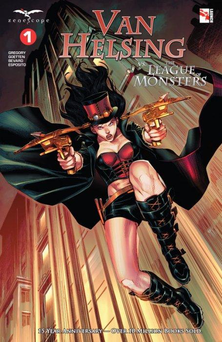 Van Helsing vs. the League of Monsters #1