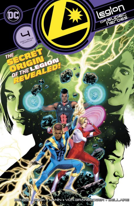 Legion of Superheroes #4