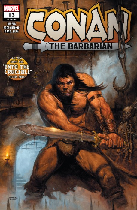 Conan The Barbarian #13