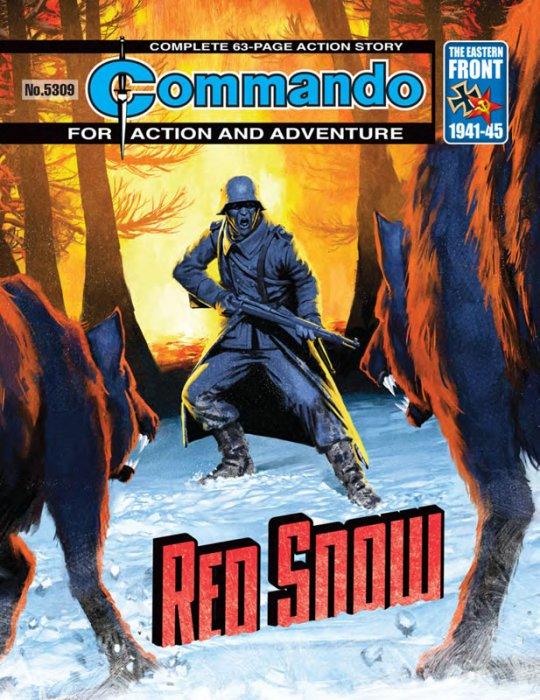 Commando #5307-5310