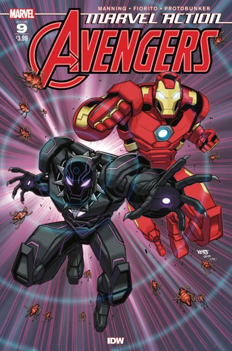 Marvel Action Avengers #9