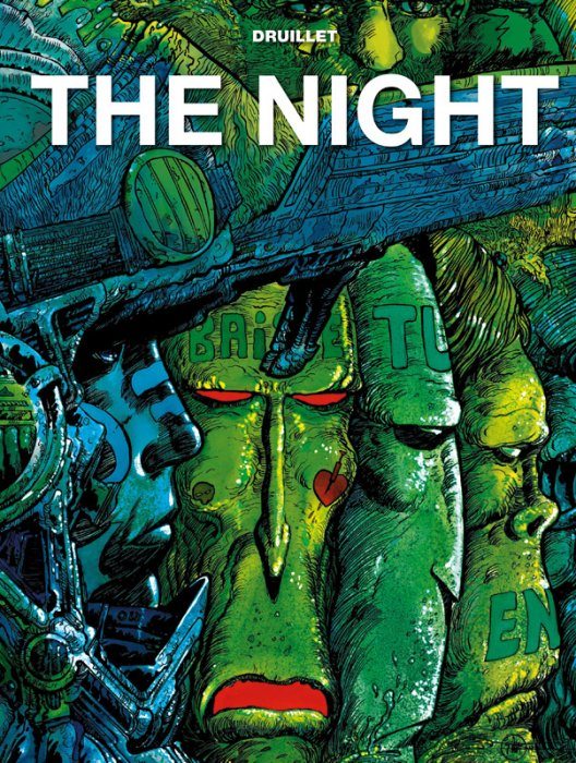 The Druillet Library - The Night #1