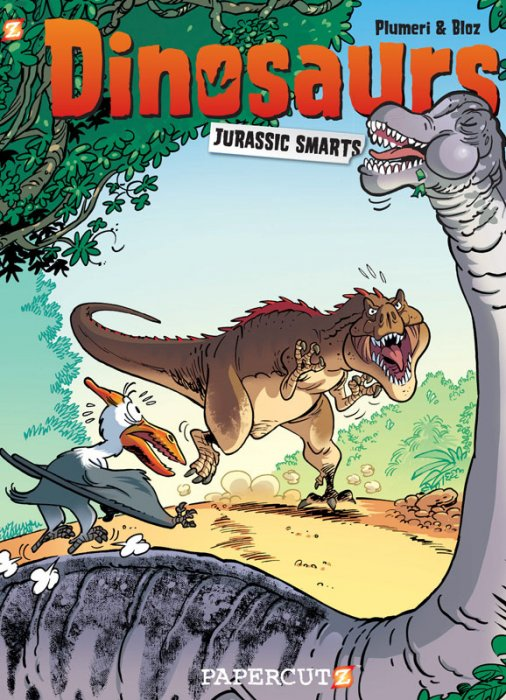 Dinosaurs #3 - Jurassic Smarts