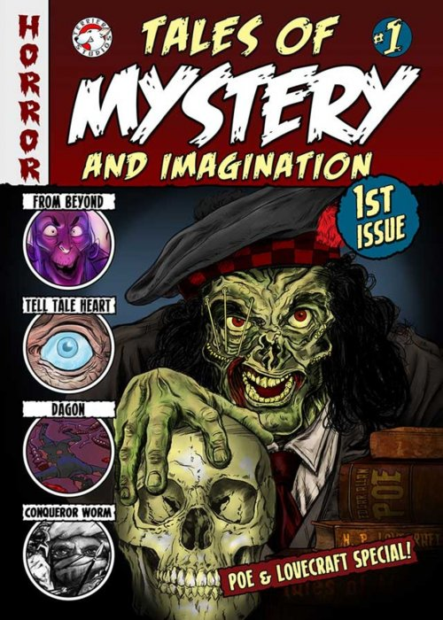Tales of Mystery and Imagination #1-3 Complete