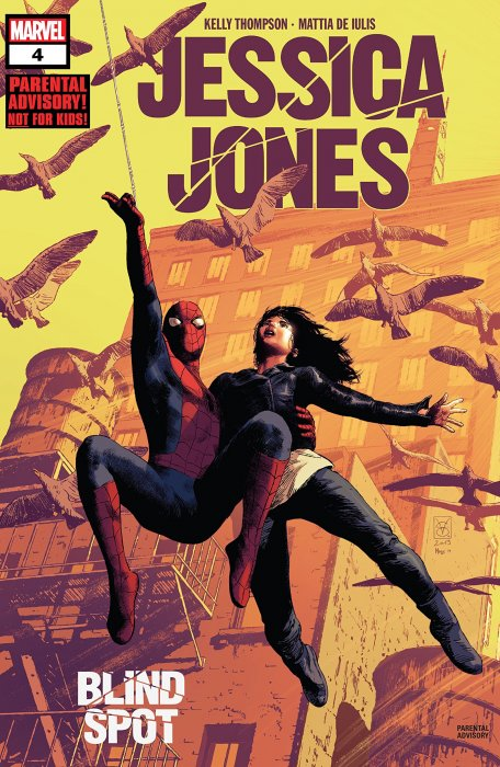 Jessica Jones - Blind Spot #4