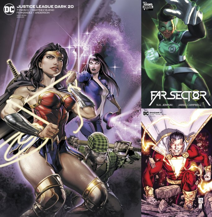 DC Variant Cover pack for 2020-02-26