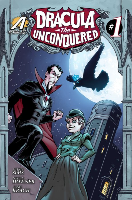 Dracula the Unconquered #1-3