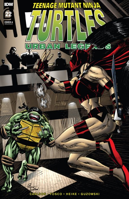 Teenage Mutant Ninja Turtles - Urban Legends #22