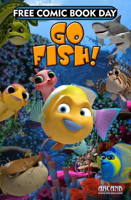 Arcana Studio Presents 2019 FCBD Ed - Go Fish #1