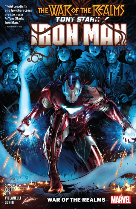 Tony Stark - Iron Man Vol.3 - War of the Realms
