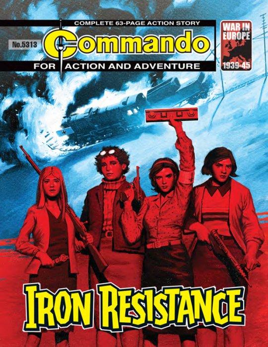 Commando #5311-5314