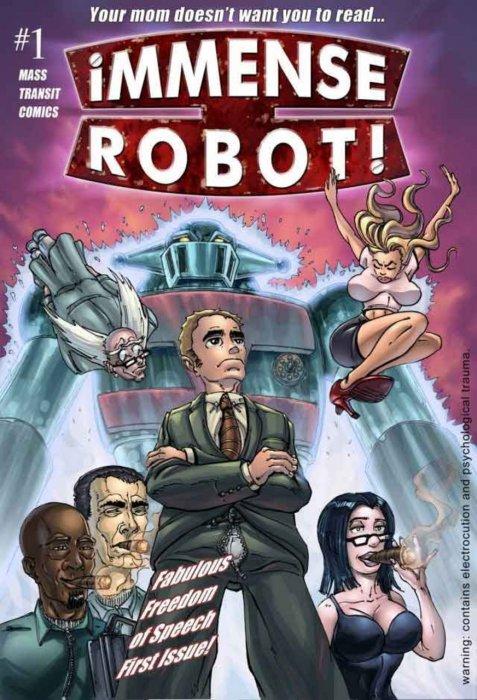 Immense Robot #1-4 Complete