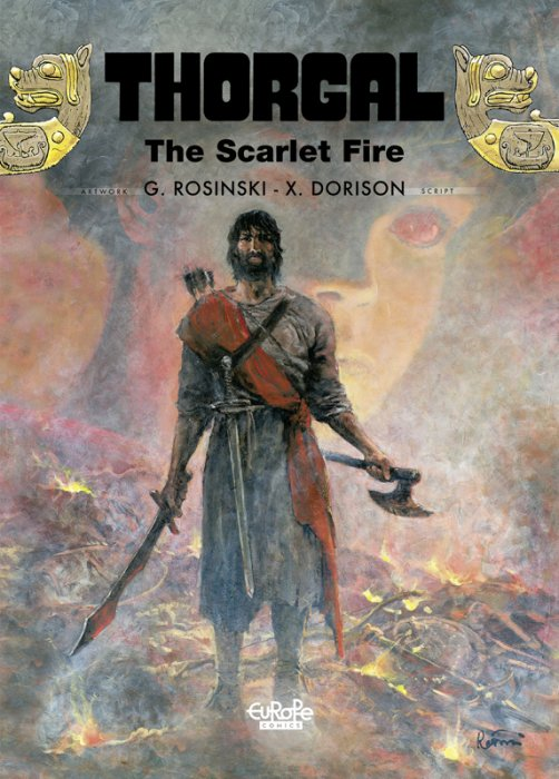 Thorgal #27 - The Scarlet Fire