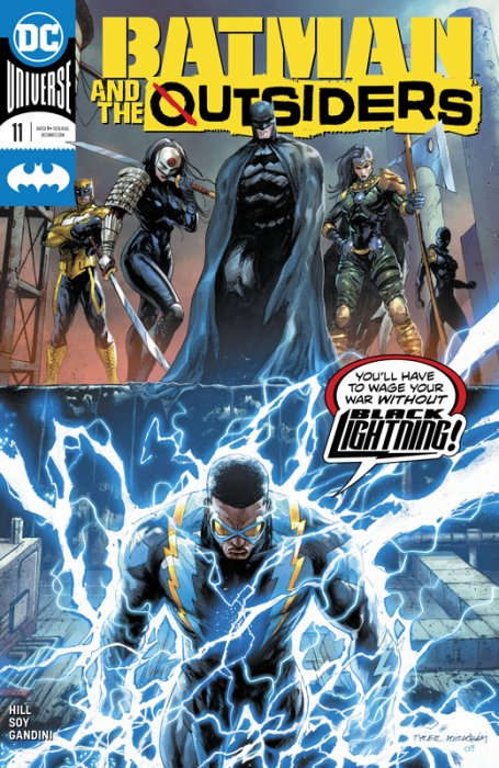 Batman & the Outsiders #11