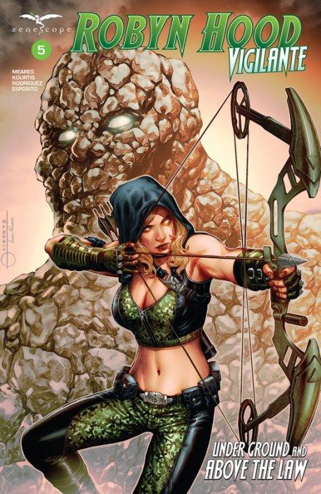 Robyn Hood - Vigilante #5
