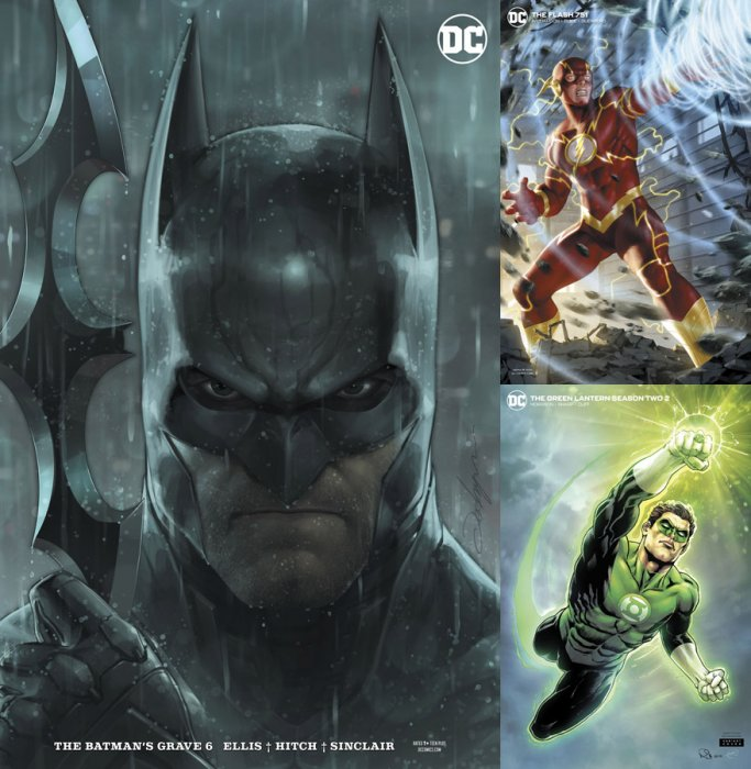 DC Variant Cover pack for 2020-03-11