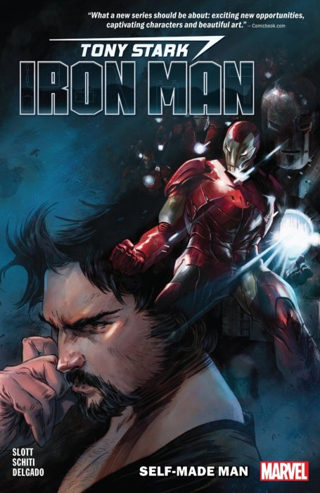Tony Stark Iron Man Vol.1 - Self-Made Man