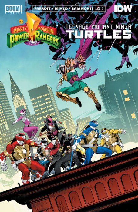 Mighty Morphin Power Rangers - Teenage Mutant Ninja Turtles #4
