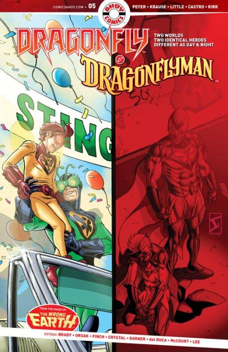 Dragonfly & Dragonflyman #5