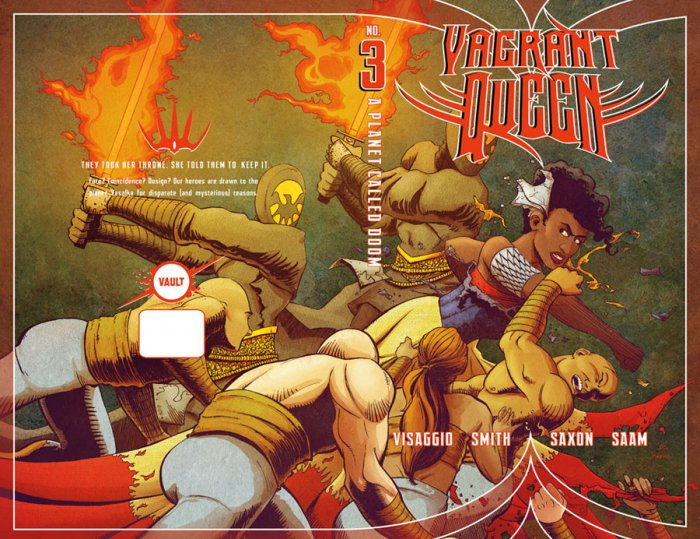 Vagrant Queen - A Planet Called Doom #3