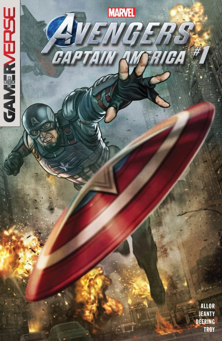 Marvel's Avengers - Captain America #1
