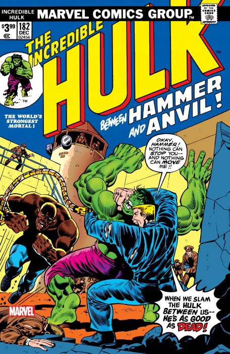 Incredible Hulk #182 - Facsimile Edition