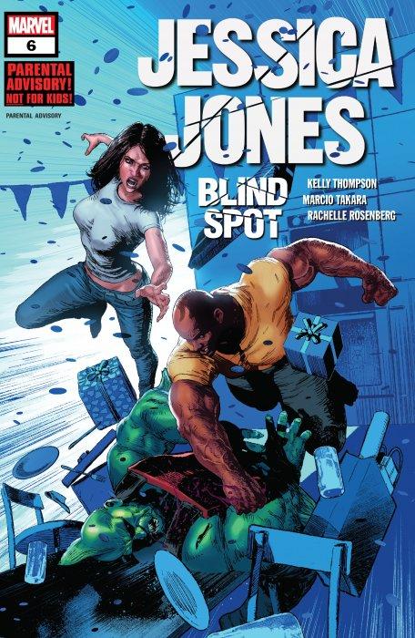 Jessica Jones - Blind Spot #6