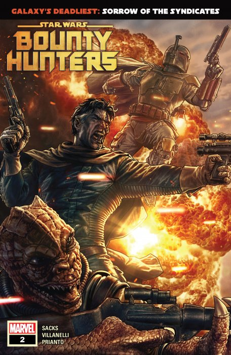 Star Wars - Bounty Hunters #2