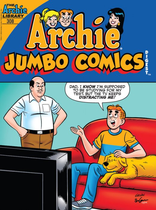 Archie Comics Double Digest #308