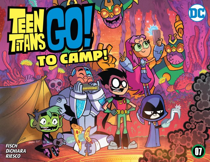 Teen Titans Go! To Camp #7