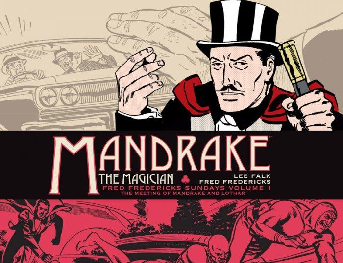 Mandrake The Magician Sundays #1 - The Meeting of Mandrake and Lothar