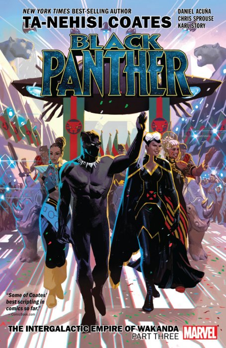 Black Panther Vol.8 - Intergalactic Empire of Wakanda Part 3