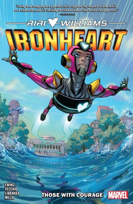 Ironheart Vol.1 - Those With Courage