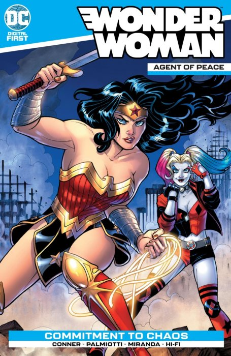 Wonder Woman - Agent of Peace #1